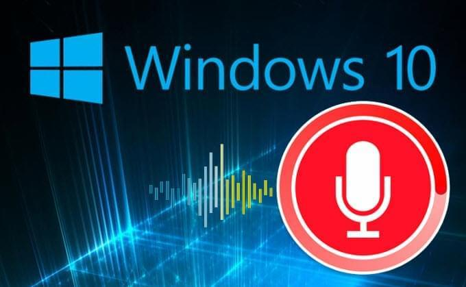 ses kaydı Windows 10